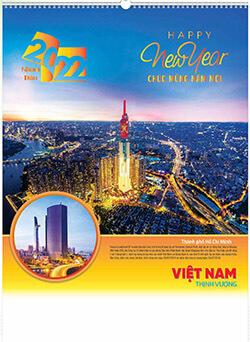 in lich tet Việt nam thịnh  vượng AN101